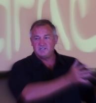 Jim Tompkins preaching