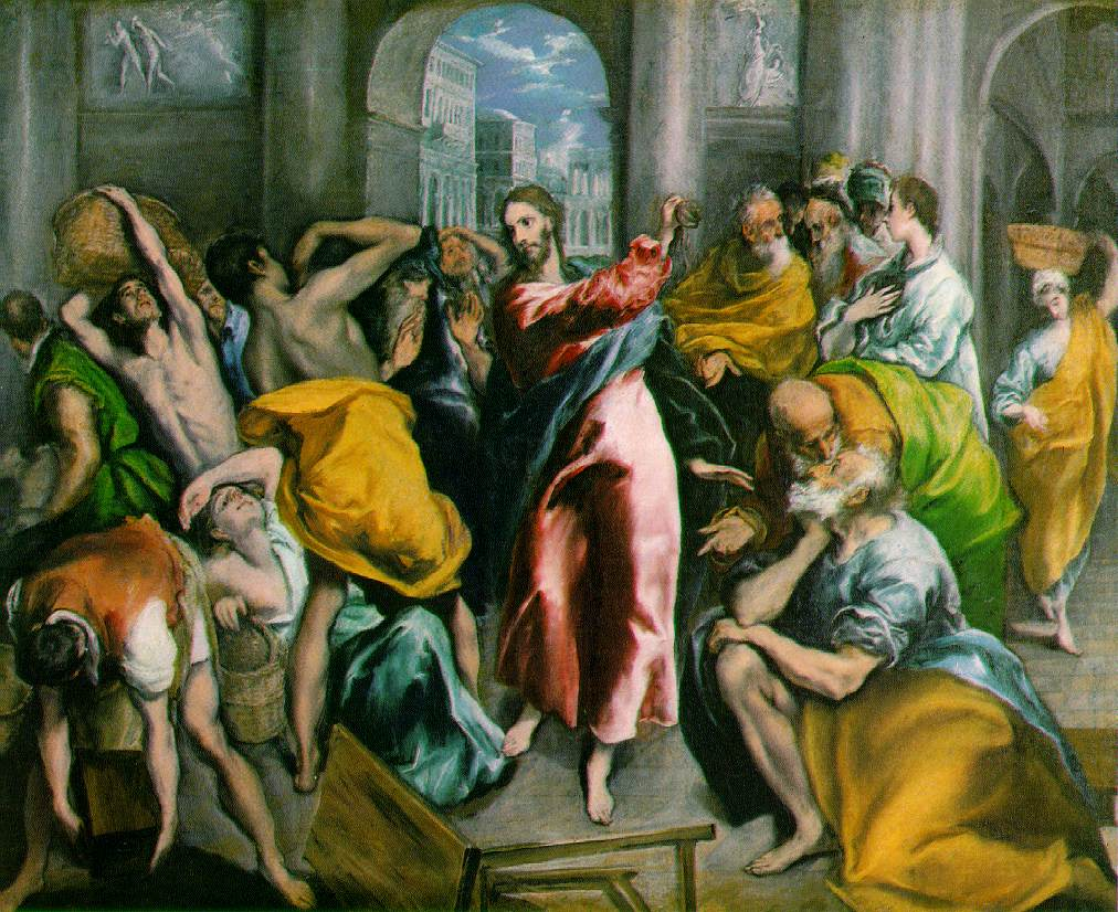 The Anger Thread Jesus-drives-out-money-traders-temple