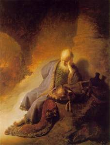 Jeremiah Laments the Destruction