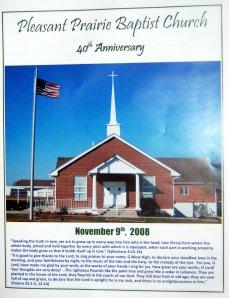 Pleasant Prairie Fortieth Anniversary