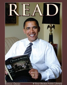 Barack Obama Reads Lincoln
