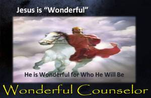 Jesus is Wonderful for Who He Will Be