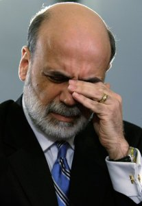 Bernanke is Worried