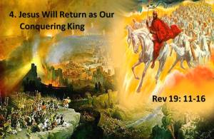 Jesus is our Conquering King
