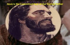 Jesus is Committed face