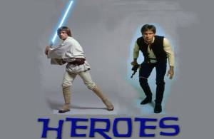Luke and Han are Heroes