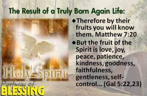 result-of-born-again-life