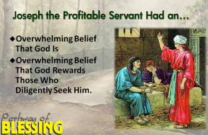 Joseph the Profitable Servant