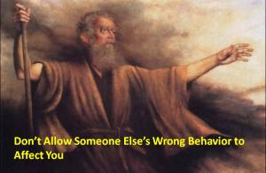 wrong-behavior-not-affect