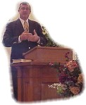 Preaching at Edgerton Baptist Church