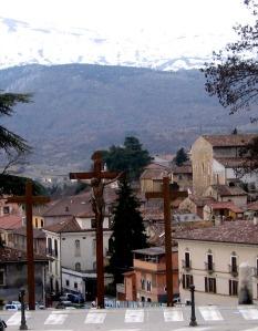 crucifixes-in-italian-alps