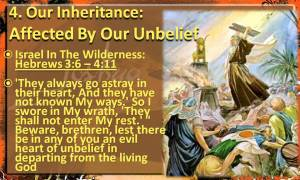 inheritance-affected-by-unbelief