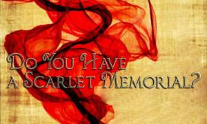 Do You Have Scarlet Cord Memorial
