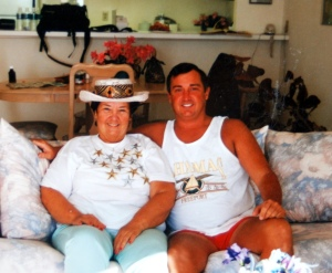 Mom and Me in the Bahamas