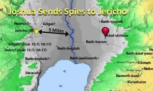 Joshua Sends Spies to Jericho
