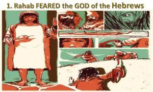 Rahab Feared God of the Hebrews