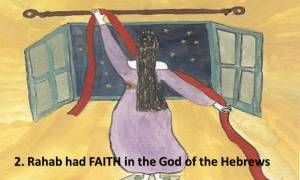Rahab had Faith in God