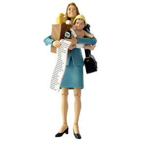Super Mom Action Figure