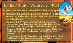 Victory over the Flesh