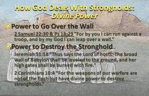 Divine Power strongholds