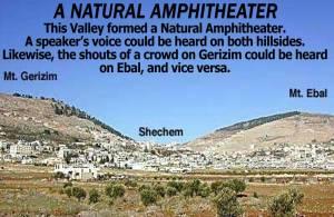 Gerizim Ebal Amphitheater