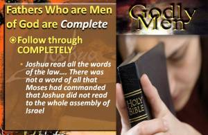 Men of God are Complete