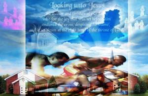 Running and looking unto Jesus