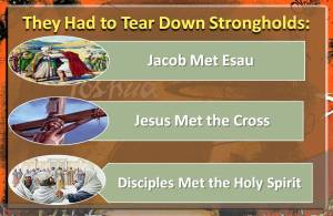 Tear down Strongholds