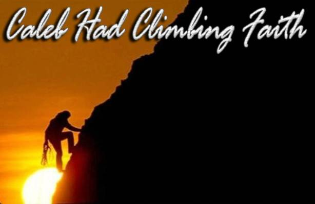 Caleb Climbing Faith