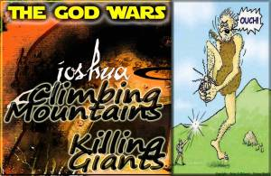 Caleb climbing mountains killing giants