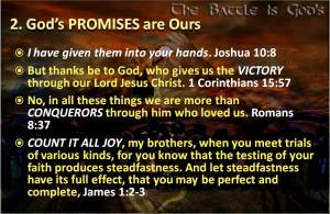 Gods Promises are Ours