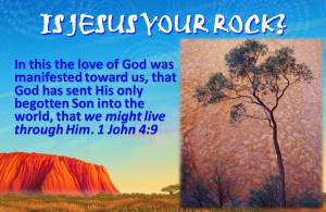 Jesus and the Bloodwood tree
