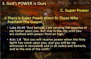 Power to Proclaim Gospel