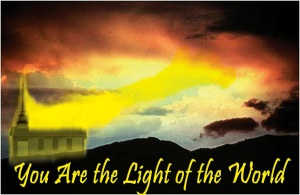 church is visible light of God