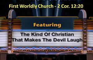 First Worldly Church