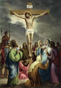 Jesus crucified for sinners