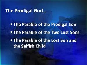 Parable of Prodigal Son
