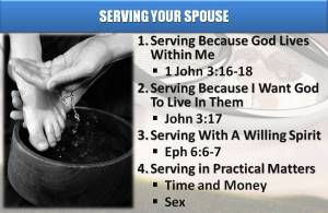 Serving Your Spouse