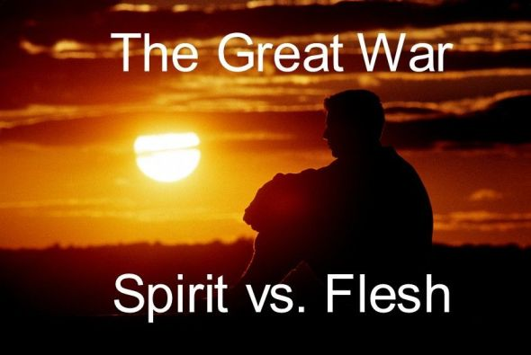 Image result for walking after the spirit and not the flesh