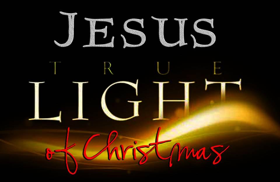 Christmas Light Jesus   Christmas Ideas
