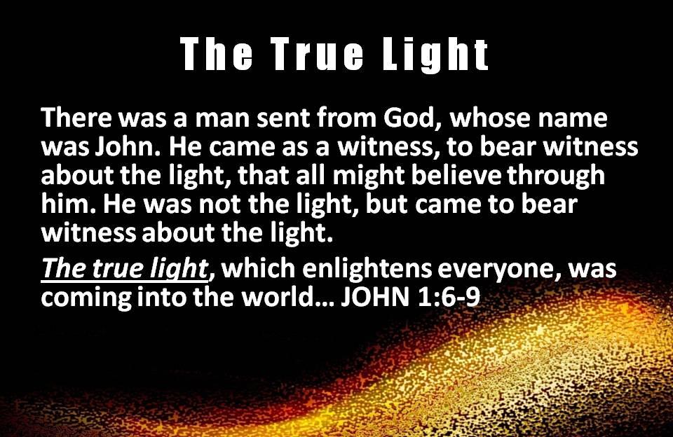 Jesus the True Light of Christmas (4/6)
