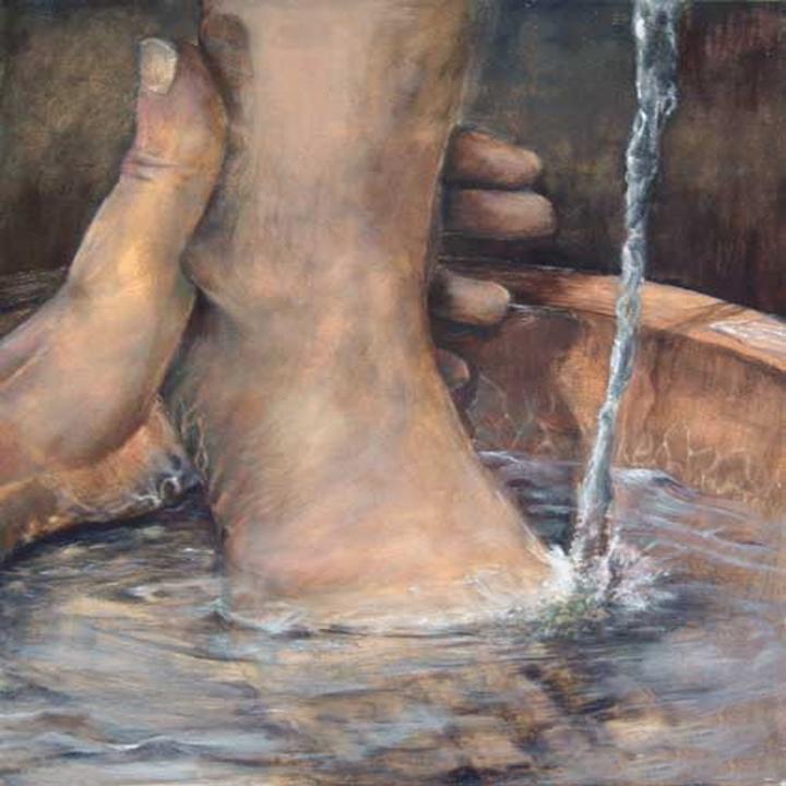 Washing Feet - Sharing in Jesus (3/6)
