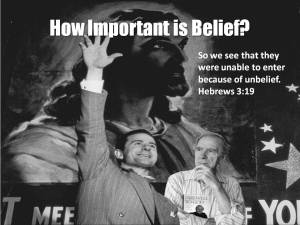 Charles Templeton How important is belief