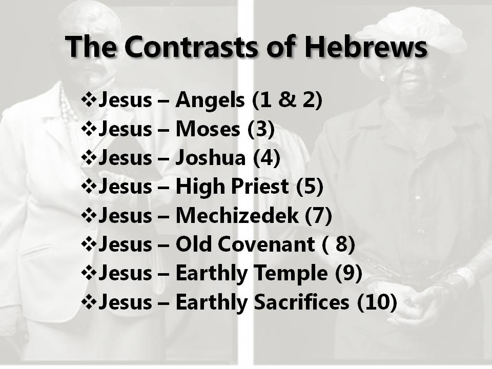 Intro to Hebrews 4 – How do You Know You Share in Jesus