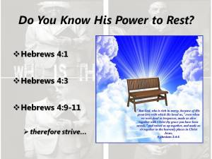 experience-Christs-power-to-rest