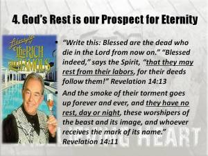 Gods rest is prospect for eternity