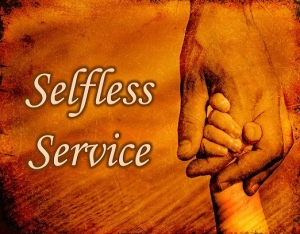 spend and be spent selfless service