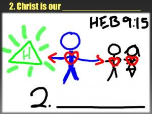 Christ is our Mediator