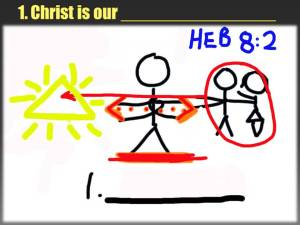 Christ is our Minister