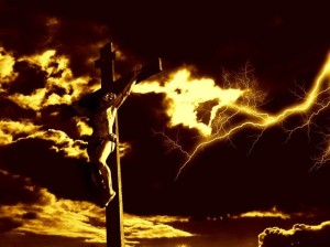 darkness covered the crucifixion